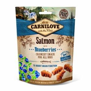 Carnilove Crunchy Snack Salmon Blueberries 200g