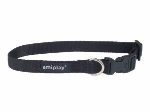 Amiplay Obroża Basic S 20-35/1cm czarna