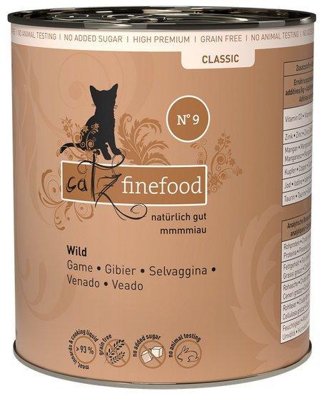 Catz Finefood N.09 Dziczyzna puszka 800g