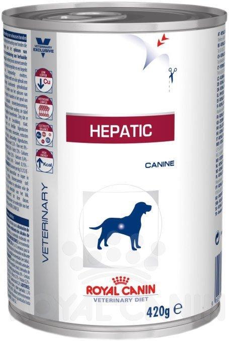 ROYAL CANIN Hepatic Canine 420 g puszka