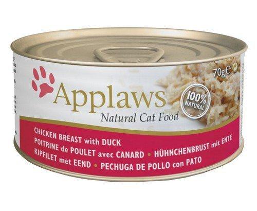 Applaws puszka dla kota Kurczak i Kaczka 70g