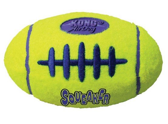Kong Airdog Squeaker Football Small 8cm [ASFB3]