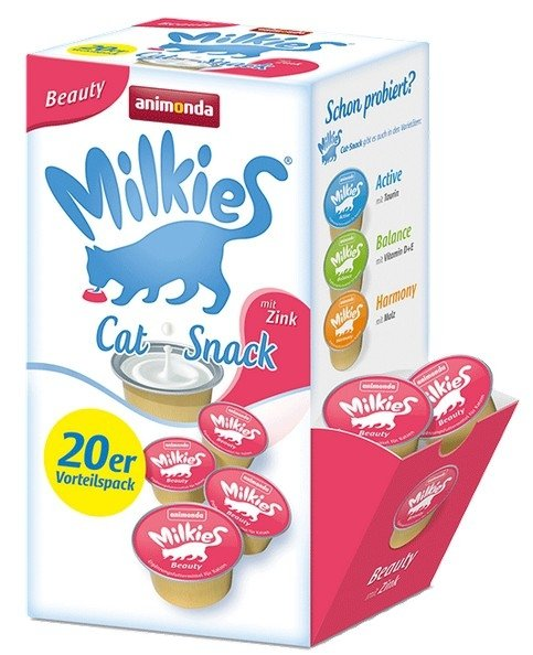 Animonda Kot Milkies Beauty 20x15g