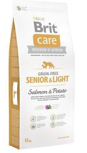 Brit Care Senior and Light Salmon and Potato 12kg