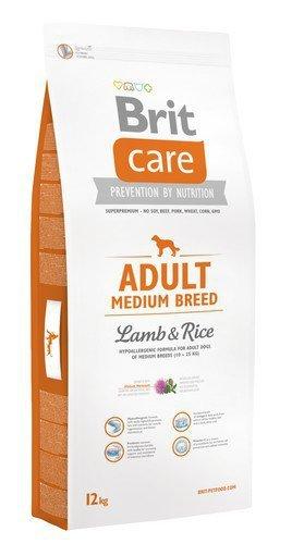 Brit Care Adult Medium Breed Lamb and Rice 12kg