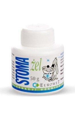 Eurowet Stoma-żel - pasta do pielęgnacji uzębienia psów i kotów 50g