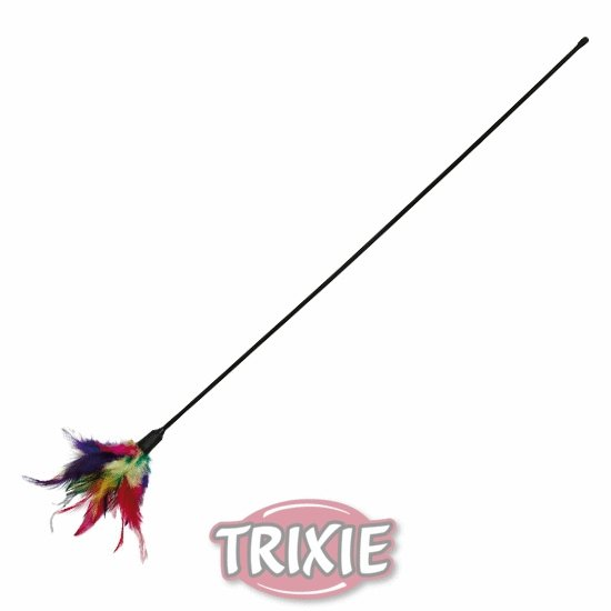 Trixie Patyk z piórkami [TX-4106]