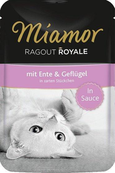 Miamor Ragout Royale z Kaczką i Drobiem w sosie saszetka 100g