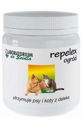 Dr Seidel Repelex Garden (Ogród) - Preparat utrzymujący psy i koty z daleka - 250g