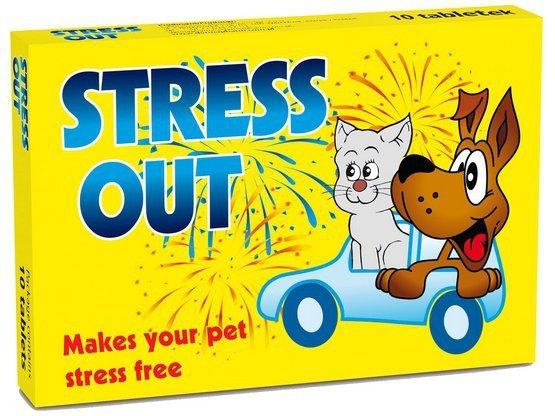 DermaPharm Stress Out dla psa blister 10 tabletek