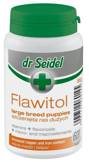 Dr Seidel Flawitol dla szczeniąt ras dużych 60 tabletek