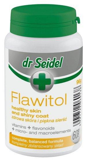 Dr Seidel Flawitol zdrowa skóra i piękna sierść 60 tabletek