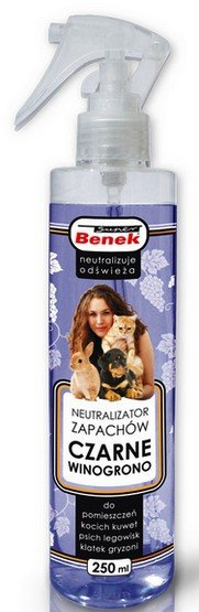 Certech Benek Neutralizator Spray - Czarne winogrono 250ml
