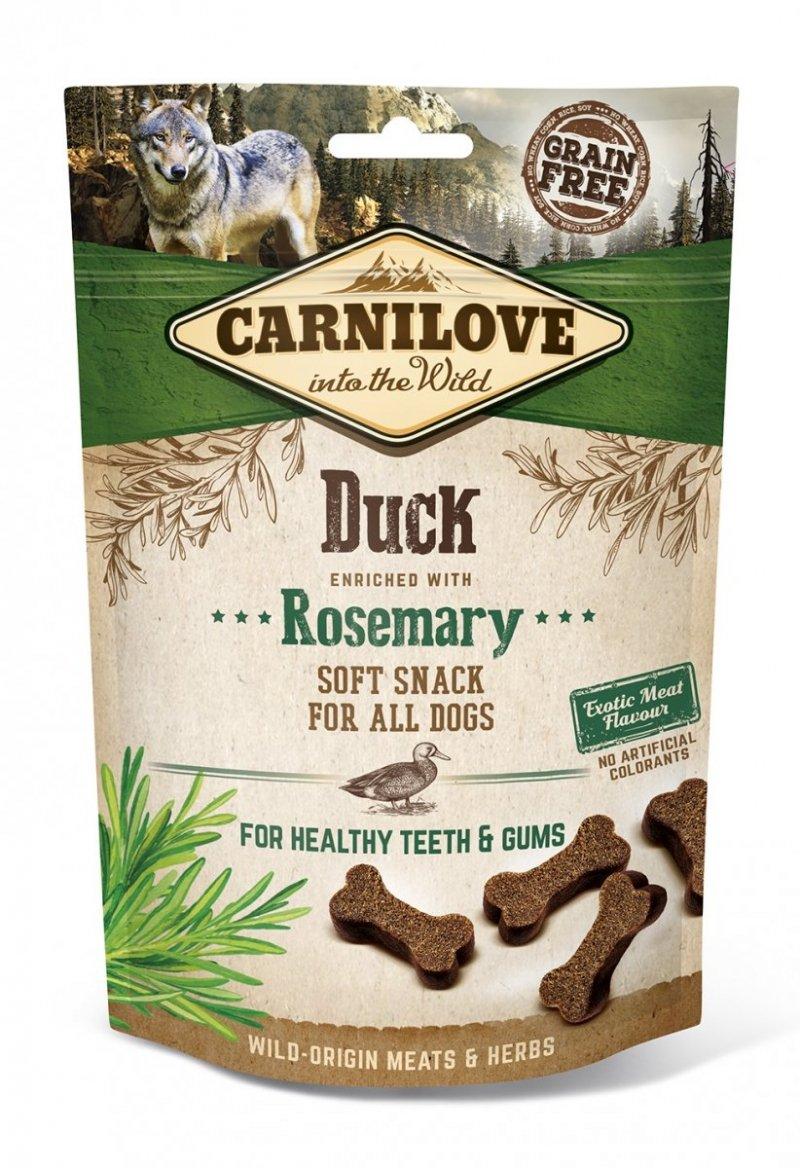 Carnilove Semi Moist Snack Duck and Rosemar 200g