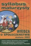 Syllabus maturzysty   Wiedza o społeczeństwie, matura 2002