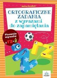 Ortograficzne zadania z wyrazami do zapamiętania RZ-Ż / Pryzmat