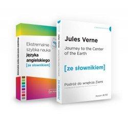 Pakiet Journey to the Centre of the Earth i Ekstremalnie szybka nauka języka angielskiego
