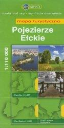 Pojezierze Ełckie mapa turystyczna 1:110 000