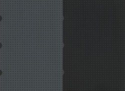 Zeszyt A5 Paper-oh Cahier Circulo gładki 40 kartek Black on Grey / Grey on Black