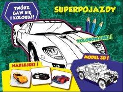 Twórz baw się koloruj Superpojazdy
