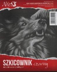 Szkicownik czarny A4 30 kartek