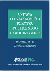 Ustawa o działalności pożytku publicznego i o wolontariacie
