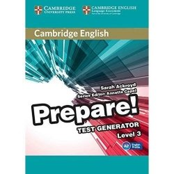 Cambridge English Prepare! Test Generator Level 3 CD-ROM