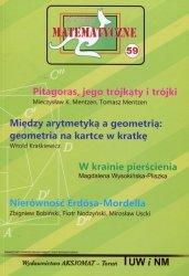 Miniatury matematyczne 59 Pitagoras jego trójkąty i trójki