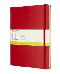 Notes Moleskine Classic XL gładki czerwony