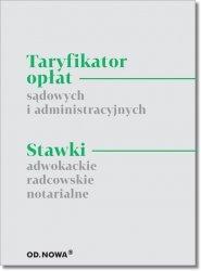 Taryfikator opłat sądowych i administracyjnych