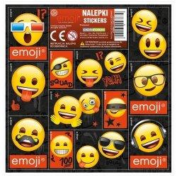 Nalepki 16z16 Emoji 12x25 sztuk