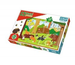 Puzzle Maxi Zwierzęta w lesie 15