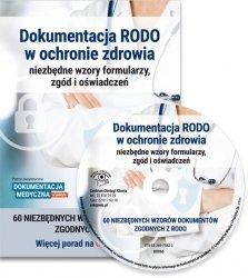 Dokumentacja RODO w ochronie zdrowia - niezbędne wzory formularzy, zgód i oświadczeń