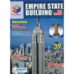 Puzzle 3D budowle Empire State Building