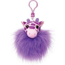 Pompon fioletowa żyrafa