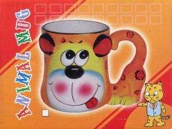 Kubek ceramiczny Zwierzęta Pyszczek mix wzorów