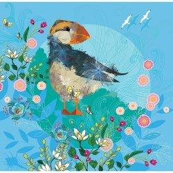 Karnet Swarovski kwadrat Ptak