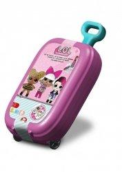 Pieczątki LOL w walizce