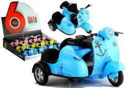 Motorek jeździ świeci gra 1:14 3 kolory mix