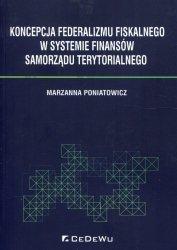 Koncepcja federalizmu fiskalnego w systemie finansów samorządu terytorialnego