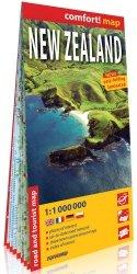 Nowa Zelandia New Zealand laminowana mapa samochodowo-turystyczna 1:1 000 000