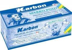 Kreda kolorowa Premium Marco Polo 100 sztuk KARBON