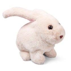 Podskakujący pluszowy króliczek