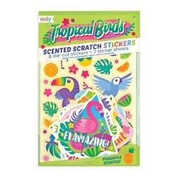 Pachnące naklejki - Tropikalne Ptaki