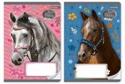 Zeszyt A5 w kratkę 32 kartki Nice and Pretty 10 sztuk