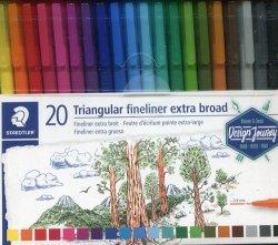 Pisak broadliner triplus 0,8mm 20 kolorów