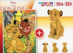 Puzzle 104 + 3D model Lion King