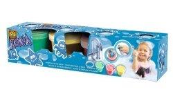 Zestaw do zabawy w kąpieli - farbki i stempelki