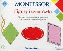 Montessori Figury i sznurówki