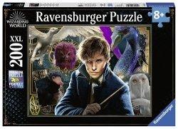 Puzzle XXL 200 Harry Potter Fantastyczne Zwierzęta